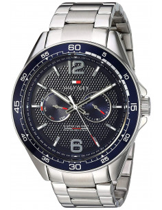 Chic Time | Montre Tommy Hilfiger Sophisticated Sport 1791366 Bracelet acier argenté  | Prix : 109,45€