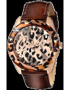 Chic Time | Montre Femme Guess Leopard W0455L3 Bracelet cuir marron  | Prix : 107,40€