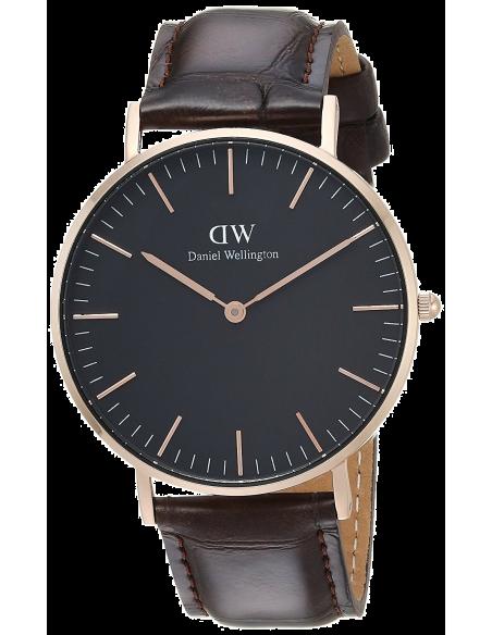Chic Time | Montre Femme Daniel Wellington Classic Black York Rose Gold DW00100140  | Prix : 84,50€