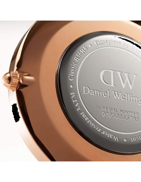 Chic Time | Montre Femme Daniel Wellington Classic Black York Rose Gold DW00100140  | Prix : 101,40€
