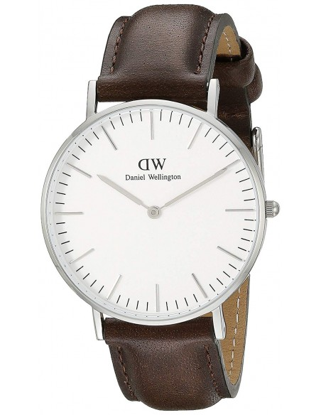 Chic Time | Montre Homme Daniel Wellington Classic Bristol DW00100023 Marron  | Prix : 94,50 €