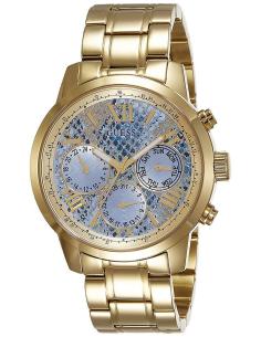 Chic Time | Montre Femme Guess W0330L13 Cadran aspect peau de serpent bleutée  | Prix : 239,40€