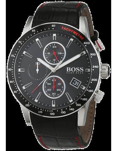 Chic Time | Montre Homme Hugo Boss Rafale 1513390 Noire  | Prix : 349,00€