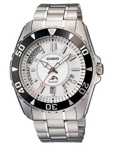 Chic Time | Montre Homme Casio MDV-103D-7AVDF Argent  | Prix : 119,90€