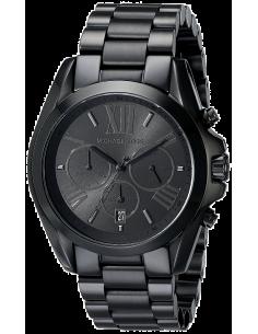 Chic Time | Montre Femme Michael Kors bradshaw MK5550 Bracelet en acier inoxydable noir  | Prix : 223,20€