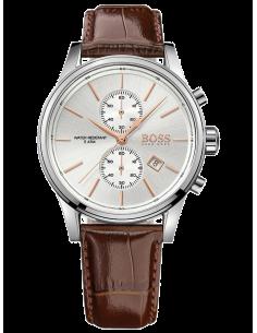 Chic Time | Montre Homme Hugo Boss 1513280 Bracelet Cuir marron  | Prix : 254,15€