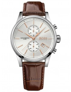Chic Time | Montre Homme Hugo Boss 1513280 Bracelet Cuir marron  | Prix : 254,15 €