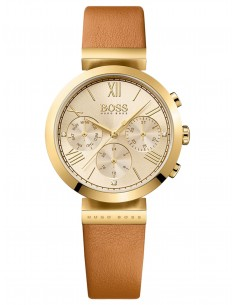 Chic Time | Montre Femme Hugo Boss Classic 1502396 Marron  | Prix : 299,00 €