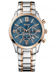 Chic Time | Montre Homme Hugo Boss Ambassador 1513321 Argent  | Prix : 407,15€