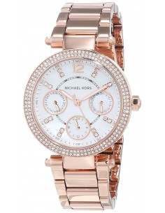 Chic Time | Montre Femme Michael Kors Parker MK5616 Or Rose  | Prix : 139,50 €