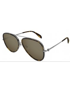 Chic Time | Lunettes de soleil Alexander McQueen Iconic AM0173S  | Prix : 360,00€