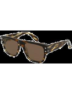 Chic Time   Lunettes de soleil Alexander McQueen Edge AM0069S    Prix : 280,00€