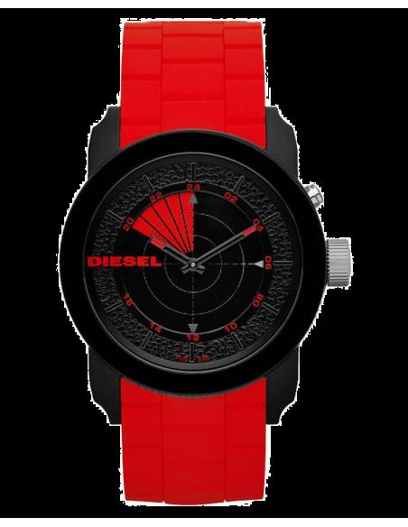 Chic Time | Montre Homme Diesel Franchise 44 DZ1607 Radar Rouge  | Prix : 109,00€