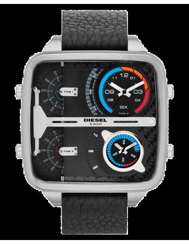 Chic Time | Montre Homme Diesel DZ7283 Mr Daddy Square Noire  | Prix : 193,99€