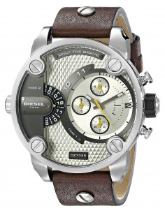 Chic Time | Montre Homme Diesel Mini Daddy DZ7335 Marron  | Prix : 233,75 €