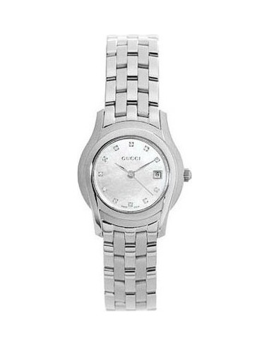 Chic Time | Montre Femme Gucci 5505 Collection YA055501  | Prix : 1,368.90