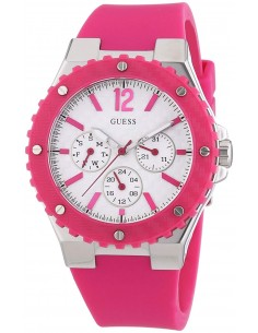 Chic Time | Montre Guess Femme Overdrive Fuschia W90084L2  | Prix : 179,99€