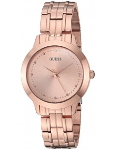 Chic Time | Montre Femme Guess U0989L3 Or Rose  | Prix : 269,00 €