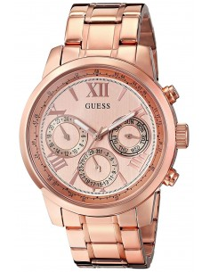 Chic Time | Montre Femme Guess W0330L2 Or Rose  | Prix : 135,20 €
