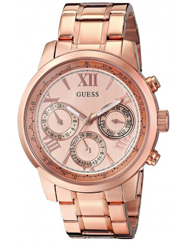 Chic Time   Montre Femme Guess W0330L2 Or Rose    Prix : 329,98€