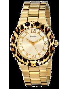 Chic Time | Montre Femme Guess W0404L1 Lunette motif léopard  | Prix : 299,98€