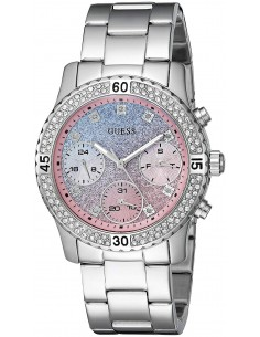 Chic Time | Montre Guess Confetti W0774L1 Acier Argenté  | Prix : 319,00€