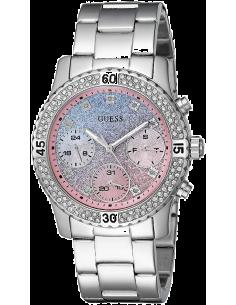 Chic Time | Montre Guess Confetti W0774L1 Acier Argenté  | Prix : 151,20€