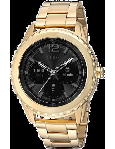 Chic Time | Montre Connectée Guess Connect Androidwear C1002M3 Smartwatch Acier Doré  | Prix : 379,00€
