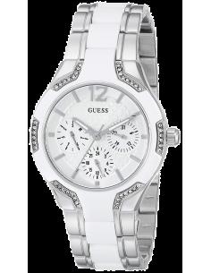 Chic Time | Montre Femme Guess W0556L1 Blanc  | Prix : 349,00€
