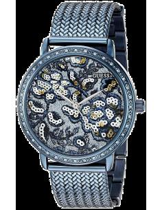 Chic Time | Montre Femme Guess W0822L3 Bleu  | Prix : 359,00€
