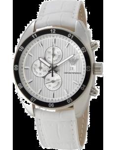 f3c69c1c74545 Montre Homme Emporio Armani AR5915 Blanc