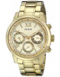 Chic Time | Montre Femme Guess Sporty W0330L1 Or  | Prix : 329,00€