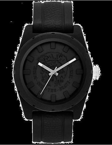 Chic Time | Montre Homme Diesel DZ1591 Rubber Company Bracelet Noir  | Prix : 99,00€