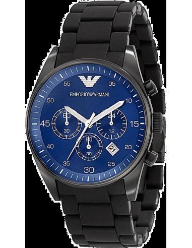 Chic Time | Montre Homme Armani Sportivo AR5921 Noir  | Prix : 189,50€