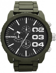 Chic Time | Montre Homme Diesel DZ4251 Franchise Military Green  | Prix : 179,90€