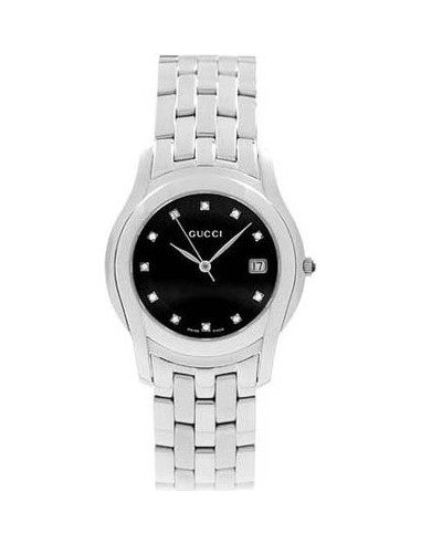 Chic Time | Montre Femme Gucci 5505 Collection YA055504  | Prix : 885,90€