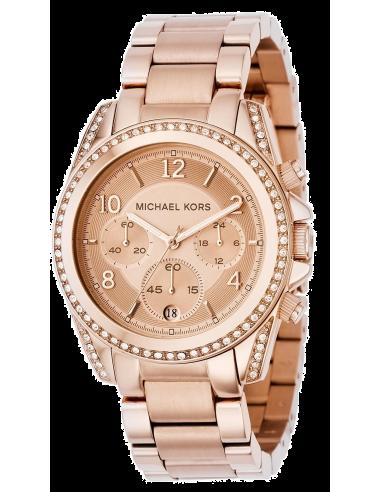 Chic Time | Montre Femme Michael Kors Runway MK5263 Bracelet acier or rose  | Prix : 139,50€