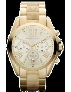Chic Time | Montre Femme Michael Kors Bradshaw MK5722 Bracelet en acier doré et acétate  | Prix : 195,30€