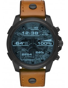 Chic Time | Montre Connectée Full Guard Diesel DZT2002 Brun  | Prix : 349,00 €