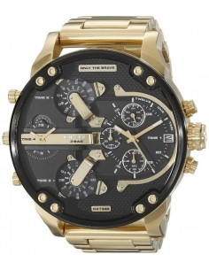 Chic Time | Montre Diesel Mr Daddy 2.0 DZ7333 Or fond noir  | Prix : 321,75 €