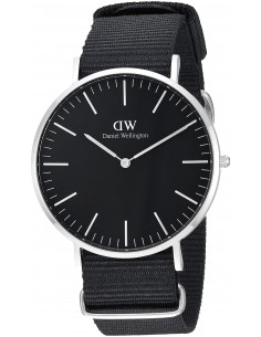 Chic Time | Montre Daniel Wellington Classic Black DW00100149 Noir  | Prix : 111,30 €