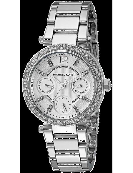 Chic Time | Montre Femme Michael Kors Parker MK5615 Argent  | Prix : 134,50€