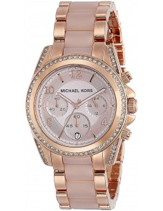Chic Time | Montre Femme Michael Kors Blair MK5943 Or Rose  | Prix : 209,30 €