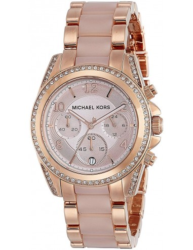 Chic Time | Montre Femme Michael Kors Blair MK5943 Or Rose  | Prix : 149,50 €