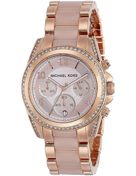 Chic Time | Montre Femme Michael Kors Blair MK5943 Or Rose  | Prix : 139,50 €