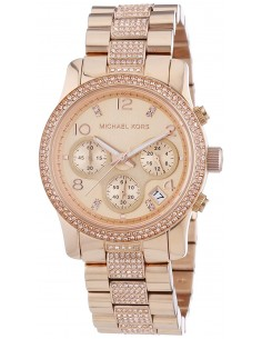 Chic Time | Montre Femme Michael Kors Runway MK5827 Or Rose  | Prix : 224,50 €