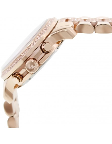 Chic Time | Montre Femme Michael Kors Runway MK5827 Or Rose  | Prix : 224,50€