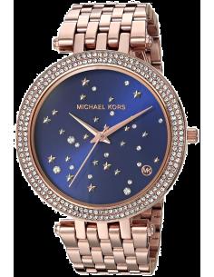 Chic Time | Montre Michael Kors Darci MK3728 Ciel étoilé bracelet or fond bleu  | Prix : 139,50€