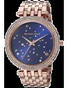 Chic Time | Montre Michael Kors Darci MK3728 Ciel étoilé bracelet or fond bleu  | Prix : 167,40€