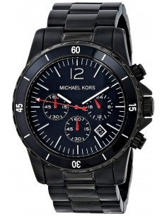 Chic Time | Montre Homme Michael Kors MK8161 Chrono Black  | Prix : 125,94€